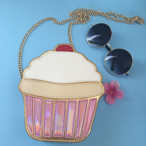 Cute Cupcake Crossbody Bag