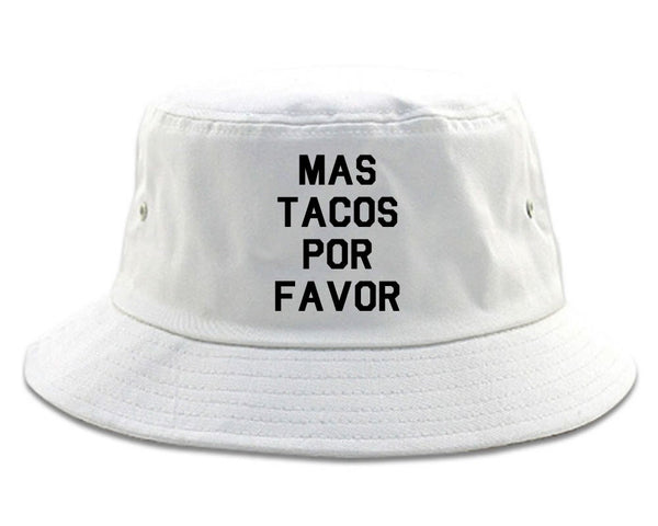 Mas Tacos Por Favor Bucket Hat
