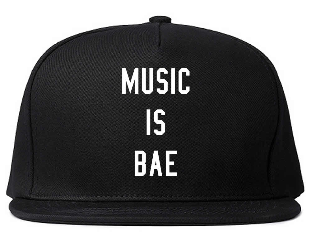 Music is Bae Snapback