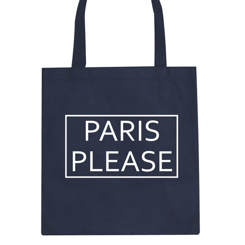 Paris Please Tote