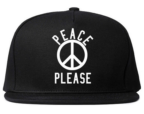 Peace Please Snapback