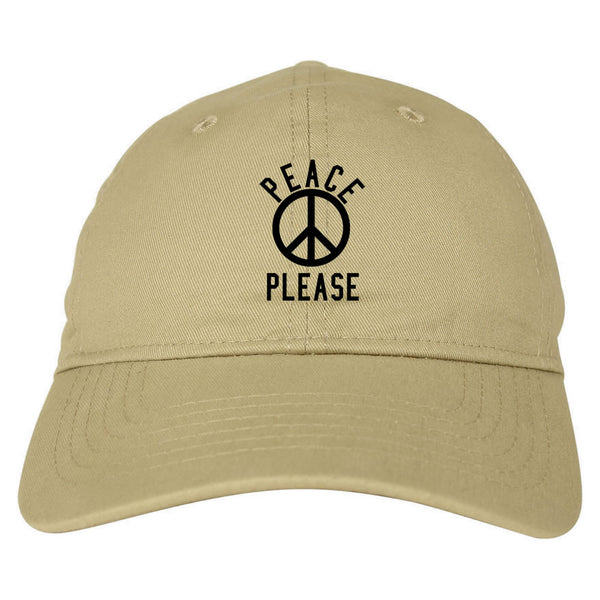 Peace Please Dad Hat