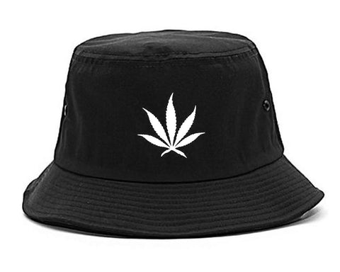 Pot Leaf Bucket Hat