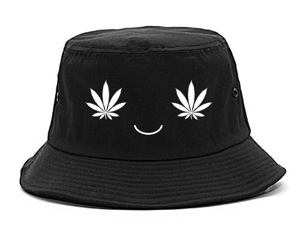 de6dbf3ad49 Weed Smiley Face Bucket Hat  sample   – FashionIsGreat