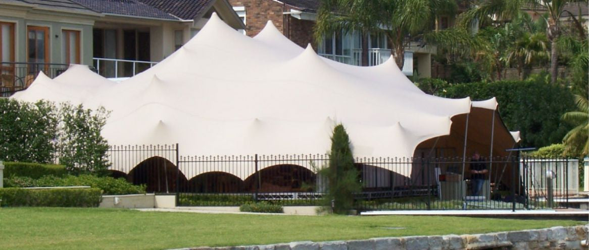 Backyard marquee events