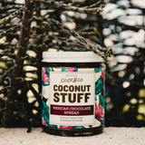 Coconut Stuff - Mexican Chocolate Spread - Jar in Foliage