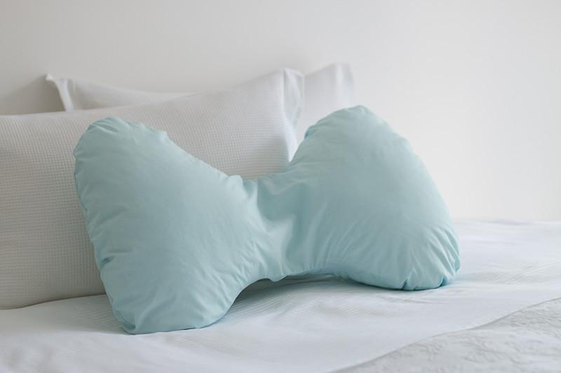 Butterfly Pregnancy Pillow Cover Sky Blue - Ultimate Pillows