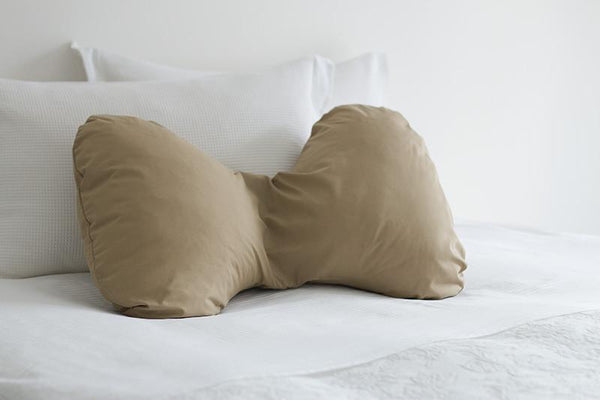 Butterfly Pregnancy Pillow Cover Latte - Ultimate Pillows