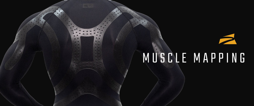 E75 Silicone Taping & Muscle Mapping Technology