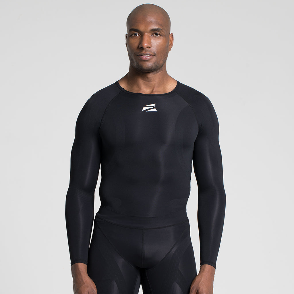 E75 Men's Compression Shirt - Long Sleeve