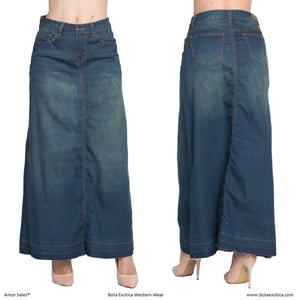 Denim Long Skirts