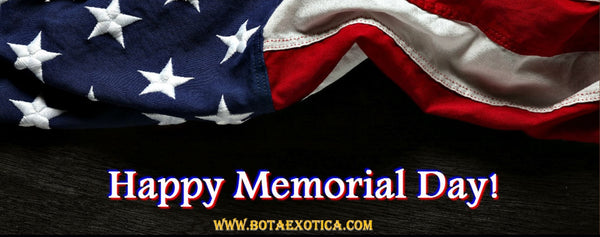 Memorial Day 2016 - Bota Exotica by Amor Sales