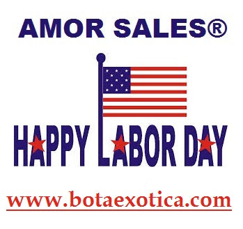 Happy Labor Day Weekend - www.botaexotica.com