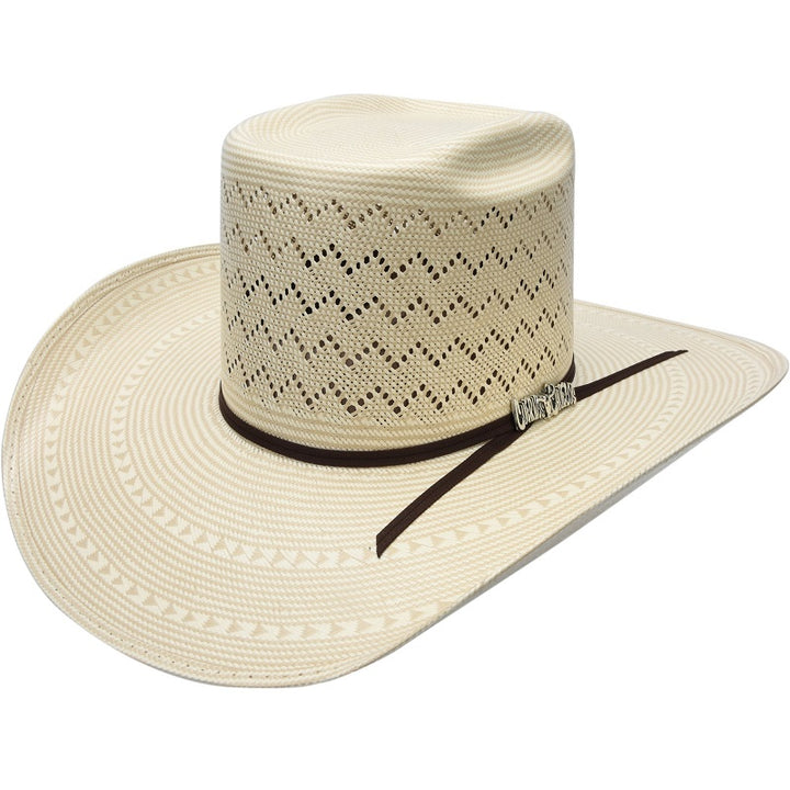 100X Vakera 2-Tone Full Mountain Peak - Sombreros Vaqueros para Hombre - Western Hats for Men