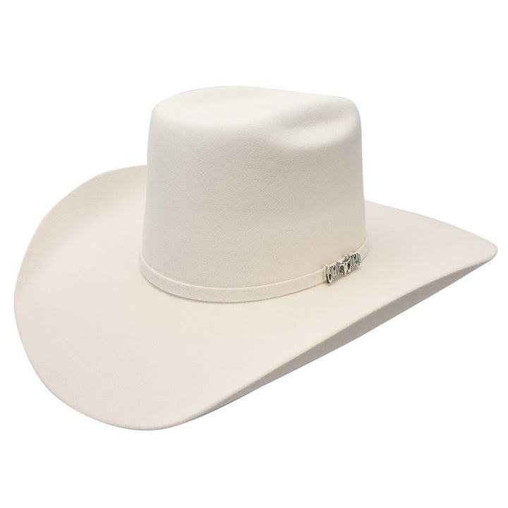6X Vakera White/Blanca - Texanas para Hombre - Felt Cowboy Hats for Men