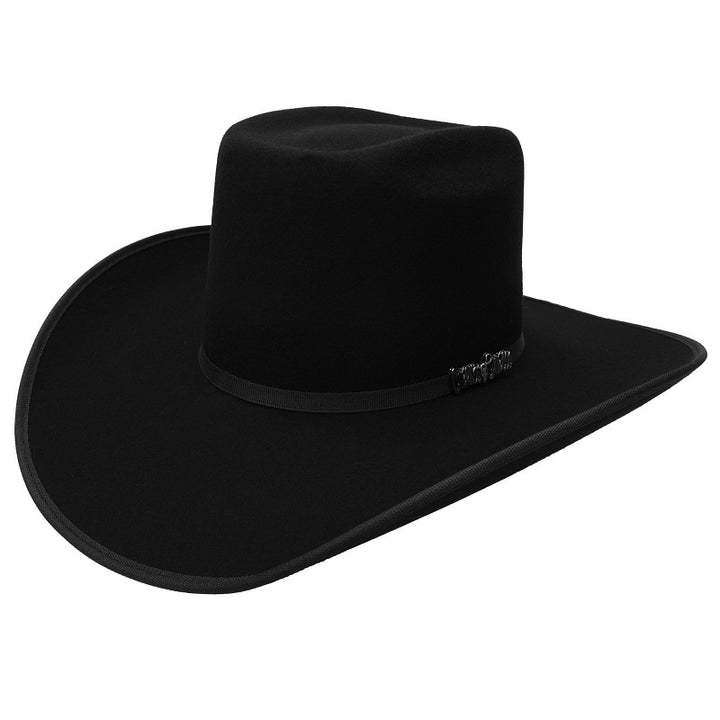 6X Vakera Negra with Brim - Texanas Para Hombre - Felt Cowboy Hats for Men