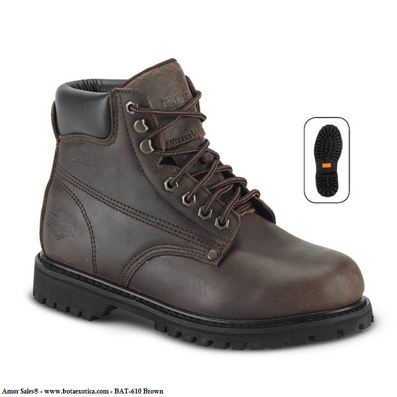 BAT-610 Brown - Botas de Trabajo