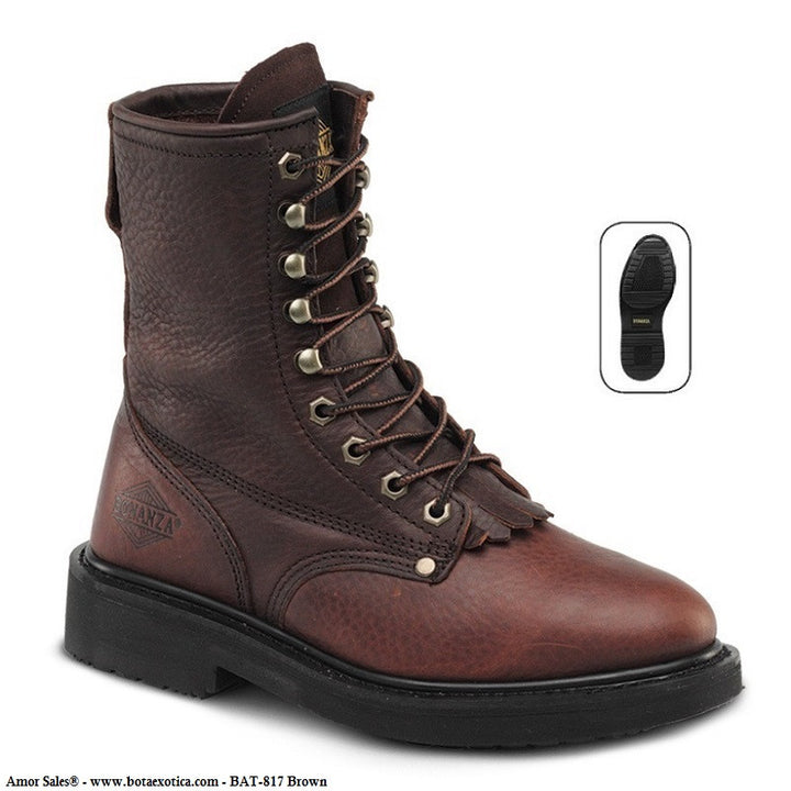 BAT-817 Brown - Botas de Trabajo