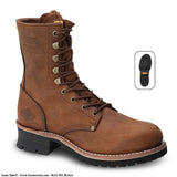BAT-901 Brown - Botas de Trabajo
