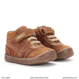 DG8359 Light Brown - Zapatos para Ninos