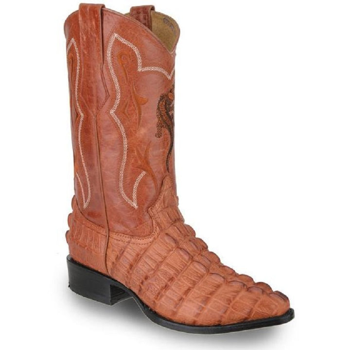 Joe Boots - JB-904 - Cognac - Exotic Boots for Men / Botas Exoticas Para Hombre
