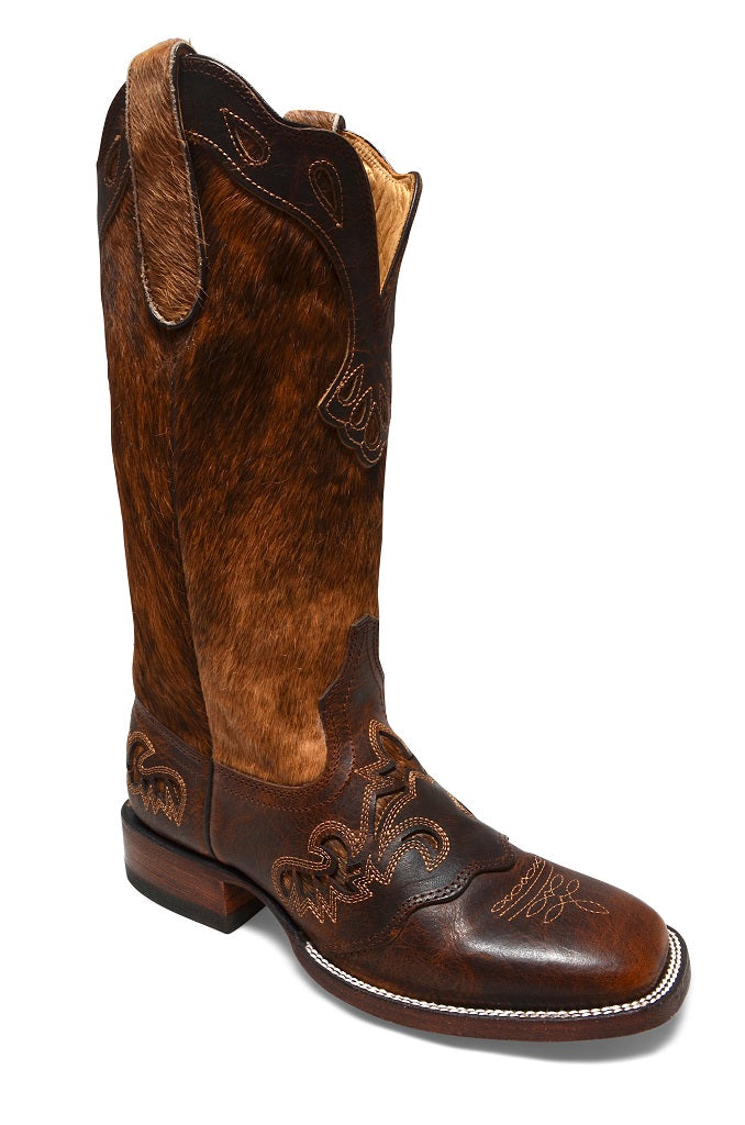 RH-Lacey Cattle Brown - Botas Vaqueras para Mujer