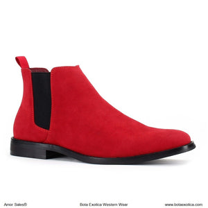 TYB1852 Red - Botas Casuales para Hombres
