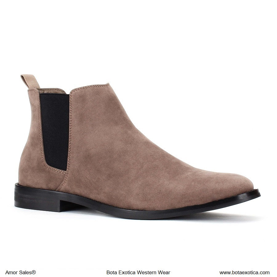 TYB1852 Taupe - Botas Casuales para Hombres