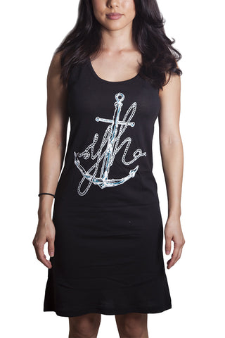 ANCHOR SINGLET DRESS