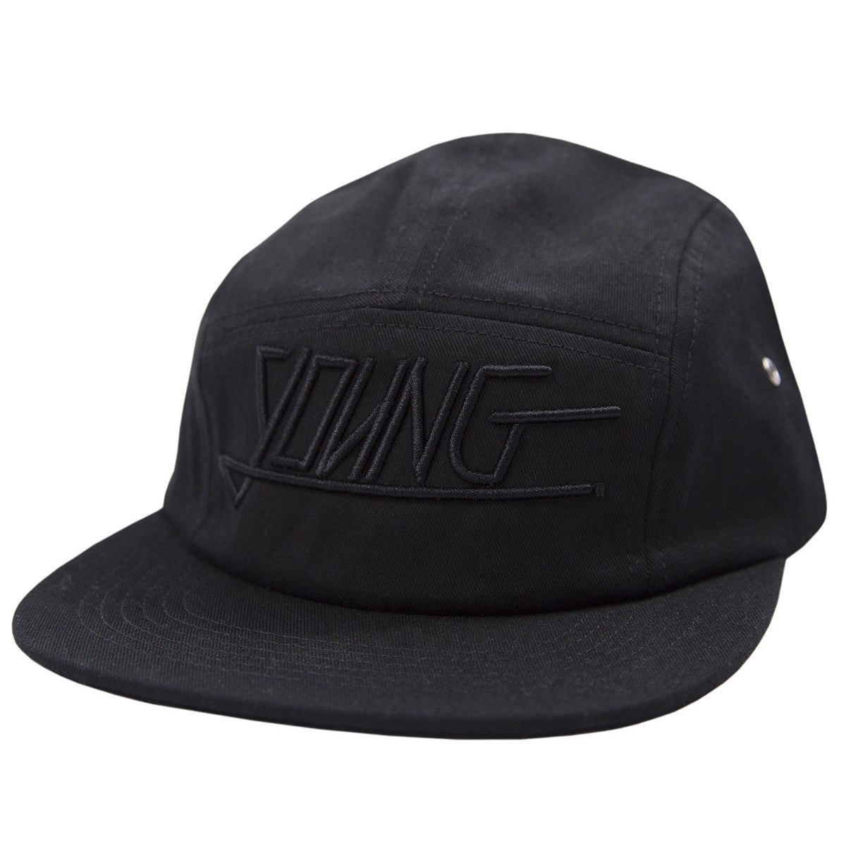 YOUNG 5 PANEL (BLACK/BLACK)