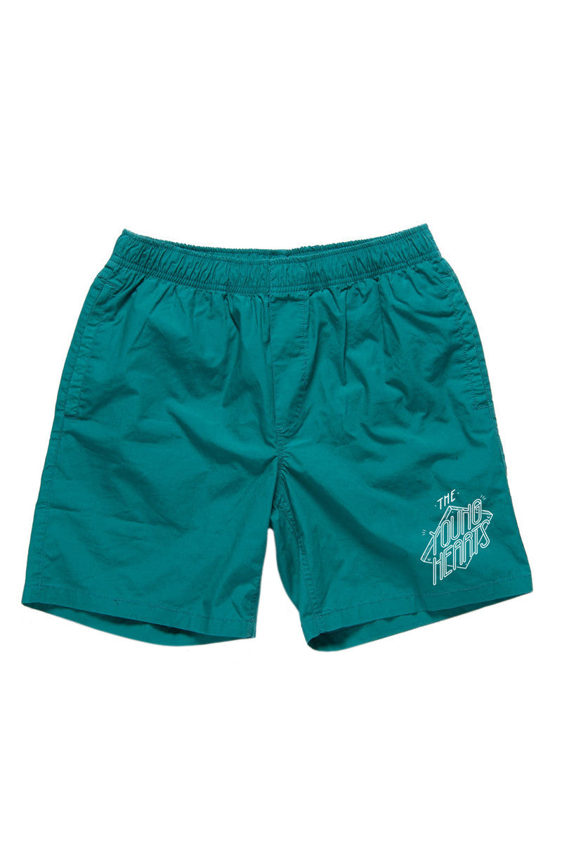 CRUISER SHORTS (JADE) PUNK HARDCORE GREEN