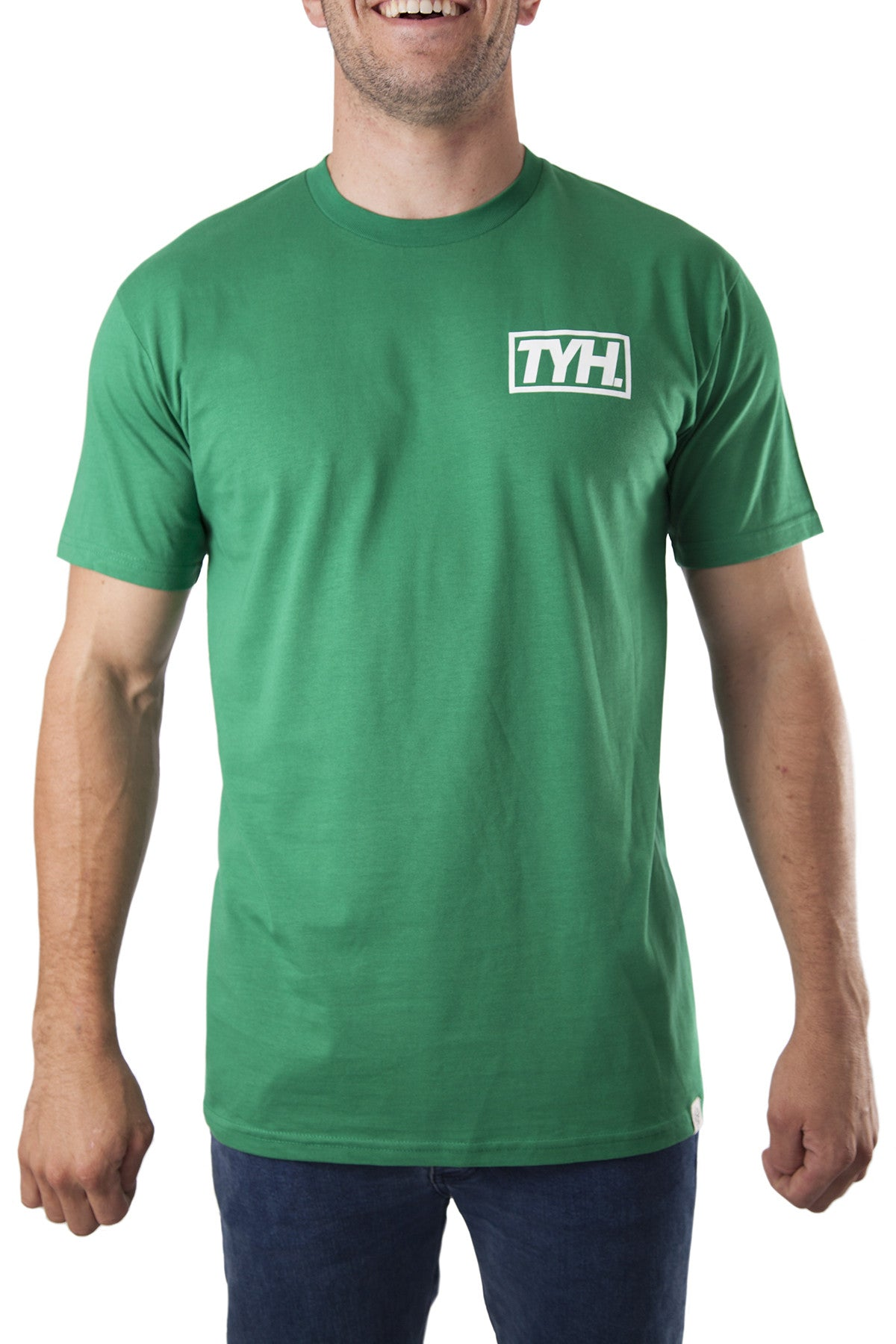TYH. POCKET LOGO TEE TSHIRT GREEN