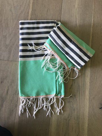 MOROCCAN TOWELS (2 pack) 85cms x 160cms