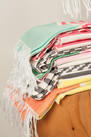 MOROCCAN TOWELS 85cms x 160cms