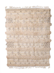 VINTAGE MOROCCAN WEDDING BLANKET 126cms x 170cms