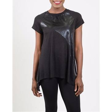 Womens Beautiful Black Gizel Knit Top - Tops and Blouses
