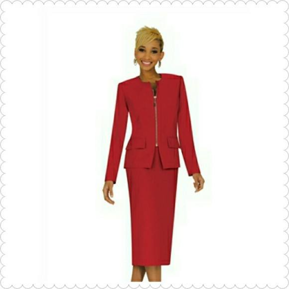 One Hour Flash Sale!! Ben Marc Executive 11271 Skirt Suit with Zipper Size 8 (see measurements and sizing guide) - Suit