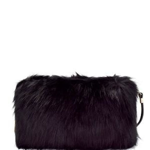 Faux fur clutch cross body - Purses and Handbags