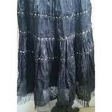 NWT Women's Beautiful Hand beaded Gypsy Skirt. Size L - Exclusively You Fashions Boutique, Frostproof, FL