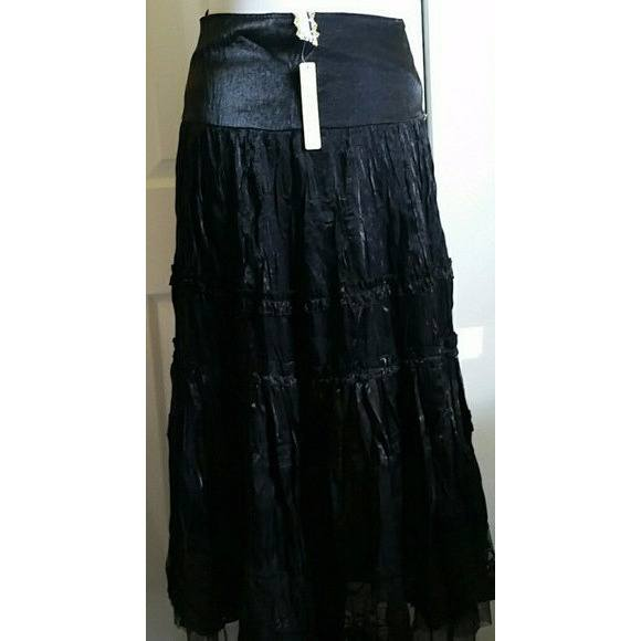 NWT Womens Beautiful Hand beaded Gypsy Skirt. Size L - Skirts