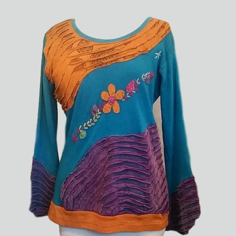 Women's Beautiful Hand Crafted Sweater. One Size Fits Most - sweater-Exclusively You Fashions - 1