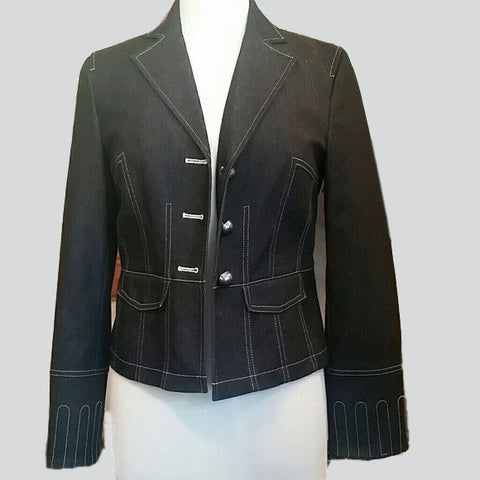 Women's Beautiful Jean Jacket Size M - Jackets and Blazers-Exclusively You Fashions - 1