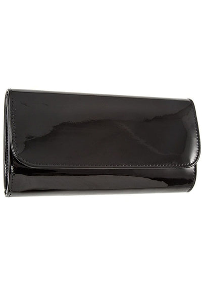 Patent detail clutch bag - Purses and Handbags