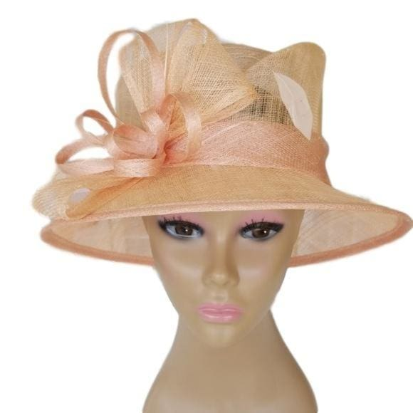 Small Brim Sinamy Dress Church Hat - Hat