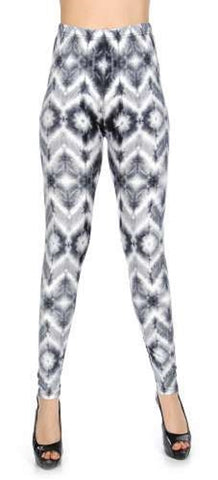 New Mix Soft Brush Leggings Faded Print PLUS size
