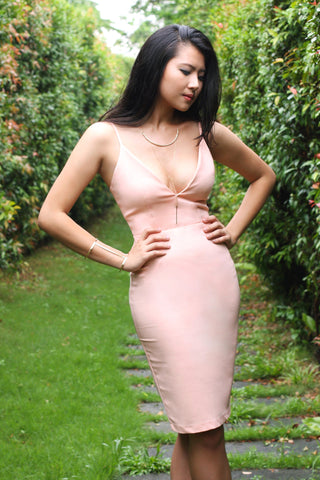 ADA Dress, Peach