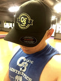Gold-Ribbon CODE3 Cap - Black