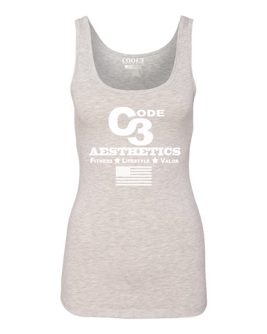 Aesthetics Women's Tank - Light Heather Gray