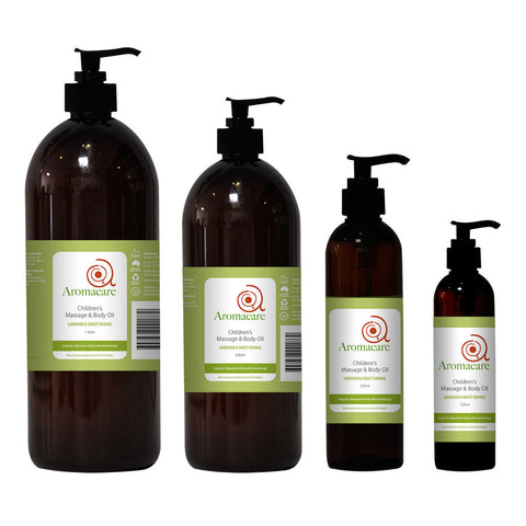 Children's Massage & Body Oil
