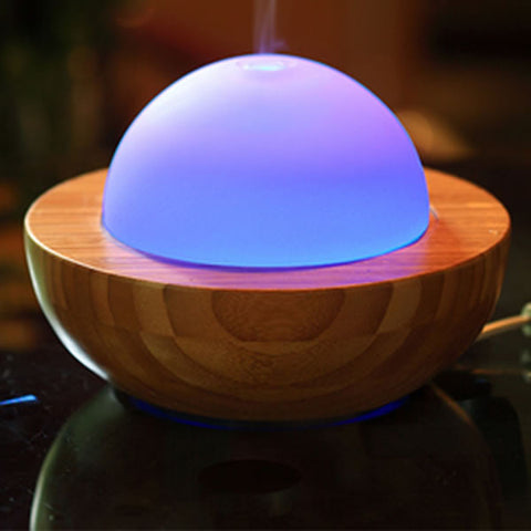 Bamboo & Glass Aroma Diffuser